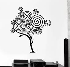 Vinyl Wall Decal Abstract Tree Nature Gothic Style Home Decor House Interior Living Room Sticker Removable Art Murals Yy663 Vinyl Wall Decals Decoration Housewall Decals Aliexpress