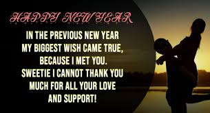 happy new year quotes for your lover new year