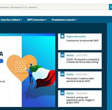 Pin INPS non serve per fare domanda bonus 600 euro coronavirus ...