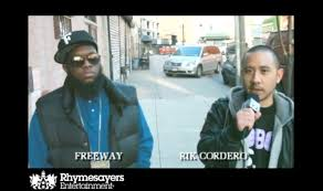 """Behind the scenes video of """"Know What I Mean"""" w/ Freeway & Rik Cordero 