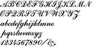 formed plastic commercial script font