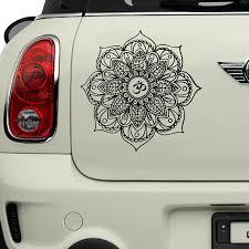 Big Discount 3317dc Classic Mandala Car Decal Om Mandala Flower Decal Wall Sticker Car Sticker A754 Cicig Co