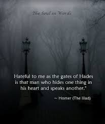 homer the iliad thesoulinwords hades truth quote homer