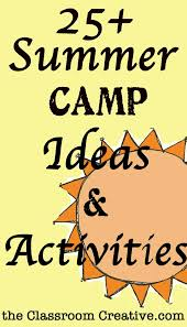 Camp Theme Ideas Activities