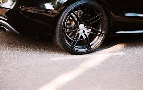 punctured car tyre repaired