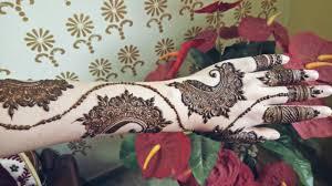 bridal gulf mehndi design