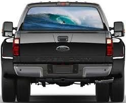 Wave Surfing Rear Window Graphic Decal Sticker Car Truck Suv Van Extreme 328 Ebay