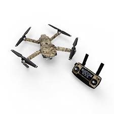 Coyote Camo Decal For Drone Dji Mavic Pro Kit Includes Drone Skin Controller Skin And 3 Battery Skins Buy Online In Albania Decalgirl Products In Albania See Prices