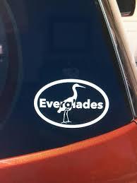 Everglades National Park Vinyl Car Window Sticker Decal Etsy