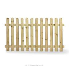 Wooden Picket Fence Panel B C Event Hire
