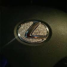 Lexus Bling Steering Wheel Logo Sticker Decal Emblem Carsoda