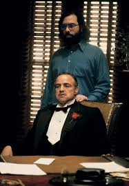 """Francis Ford Coppola and Marlon Brando in """"The Godfather"""" (1972 ..."""