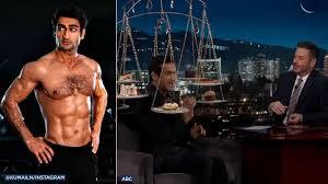 Jimmy Kimmel tempts Kumail Nanjiani ...