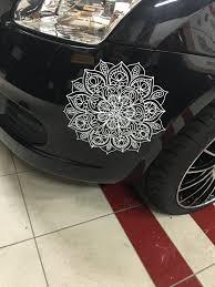 Mandala Car Decal From Www Nikkismandalas Com Www Amazon Com Handmade Nikkismandalas Unique Items Products Spiritual Decals Mandala