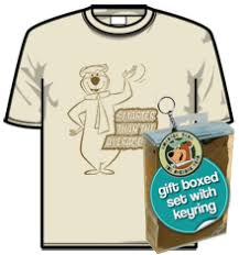 yogi bear merchandise t shirt