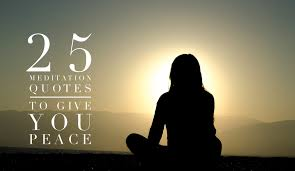 meditation quotes to give you peace