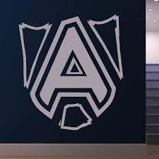 Alliance Esports Dota 2 Team Logo Wall Art Sticker Apex Stickers