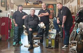 Chumlee Russell, Richard 'the Old Man' Harrison, Rick Harrison and ...