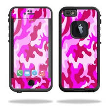 Mightyskins Protective Vinyl Skin Decal For Lifeproof Fre Power Iphone 6 6s Case Wrap Cover Sticker Skins Pink Camo Walmart Com