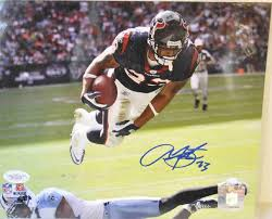 Adrian Foster Autographed 8x10 colored Photo w/ COA
