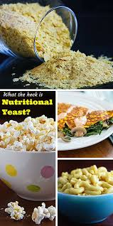 what the heck is nutritional yeast