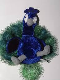 "Aurora Perry Peacock Flopsie Plush Stuffed Animal 8"" Blue Green Bird $10.99  on sale #Peacock #Birds #toys | Plush stuffed animals, Green bird, Animals"