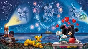 walt disney mickey and minnie love