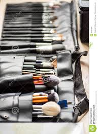 makeup brushes stock image image of