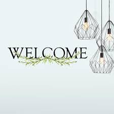 Welcome Wall Quote Peel And Stick Decal Roommates Decor
