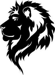 Lion Head Profile Wild Animal Car Truck Wall Window Vinyl Sticker Decal 6 Lion Silhouette Lion Stencil Lion Head