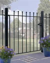 wrought iron gates metal garden