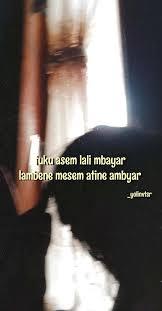 quotes tumblr jowo visual baper baperan ala jawa bikin hati mak