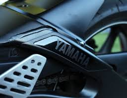 Yamaha R6 Decal Left Swingarm Bullseye Vinyl