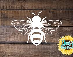 Bee Car Decal Etsy
