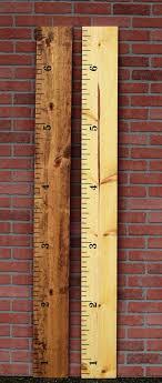 Diy Ruler Growth Chart Vinyl Decal Kit Traditional Ruler Etsy Growth Chart Ruler Wooden Growth Chart Growth Chart