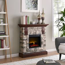 electric fireplace tv stand menards