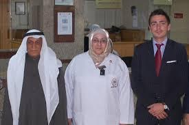 Abdullah Rashid Alsaif, Founder & Chairman, Al-Rashid Hospital with  Lawrence J. Ireton