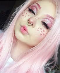cute pastel goth makeup goth