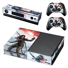 Vinyl Skin Cover Stickers Tomb Raider Decal For Xbox One Console Kinect 2 Controller Ps3 Accessories Indie Gamekeys G Xbox One Console Kinect Tomb Raider