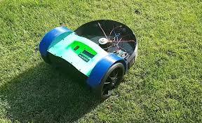 diy robot lawn mower