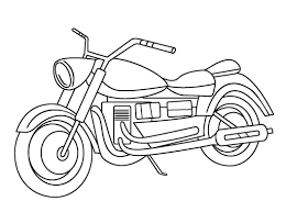 Tổng hợp các bức tranh tô màu xe máy mà bé yêu thích - Zicxa hình ảnh
