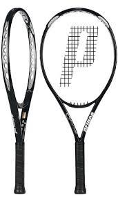 prince o3 original silver racquet 94