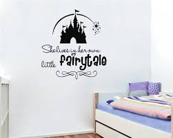 Little Fairytale Hot Selling Wall Decals Quotes Vinyl Removable Sticker Adesivo De Parede Sala Delicate Waterproof Kids Bedroom Decal Set Stickers Scratchdecal Mirror Aliexpress