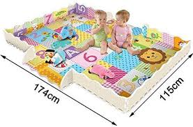 Amazon Com Yxsd Baby Play Mat With Fence 2cm Super Thick Interlocking Foam Floor Tiles Extra Large Crawling Mat With Lion King Patterns Playroom Nursery Puzzle Mat For Infants Toddlers And Kids Home