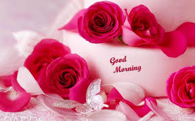 good morning love flower picture