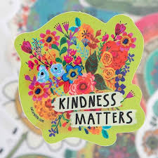 Collectibles Transportation Transportation Natural Life Car Magnet Kindness Matters Floral Auto Decal Sticker Zsco Iq