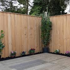5ft X 6ft Vertical Feather Edge Garden Fence Panels Jmd Building Diy Supplies