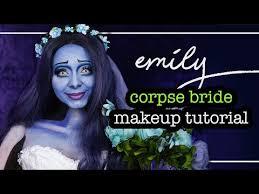 emily corpse bride beauty makeup