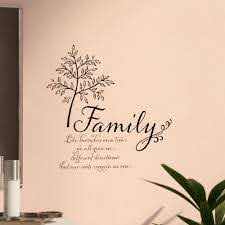 Winston Porter Droney Family Tree Quote Wall Decal Reviews Wayfair
