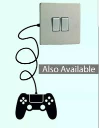 Interieurinrichting Xbox Controller Light Switch Black Vinyl Sticker Wall Decal Xbox One Svconveyancing Com Au